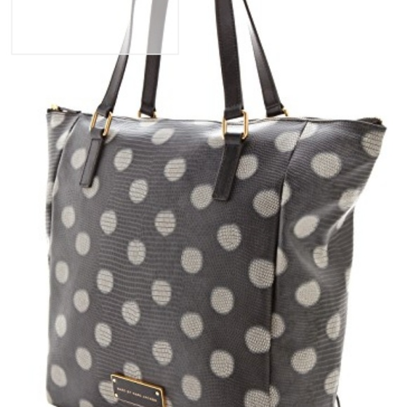 Marc By Marc Jacobs Handbags - Marc by Marc Jacobs Take Me Dots Faux Lizard Tote